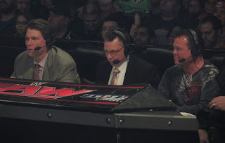 Commentary Announce Table SmackDown Byron Saxton