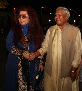 Shahnaz Husain with Shri Kariya Munda_