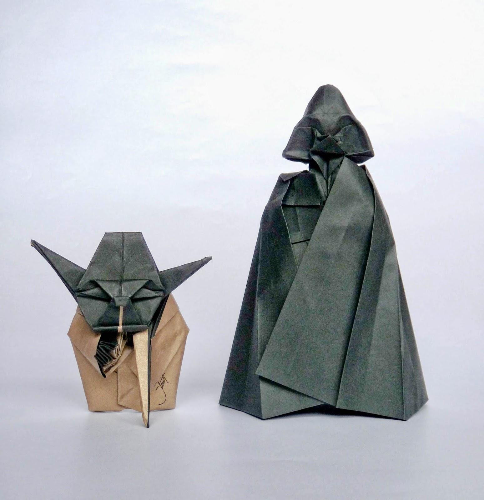 DIS.MITH: Darth Vader origami-star wars - photo#7