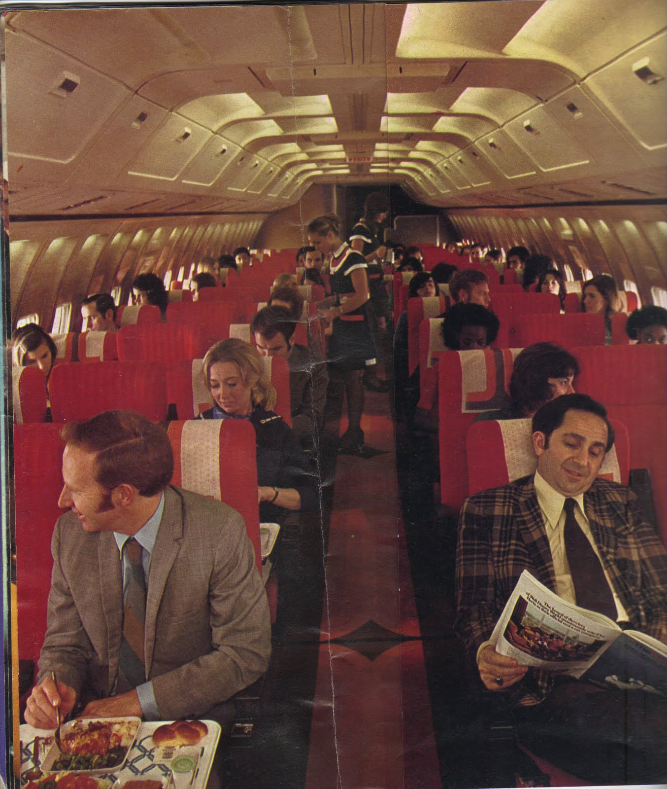 American Airlines Vintage Fleet And Inflight Service New