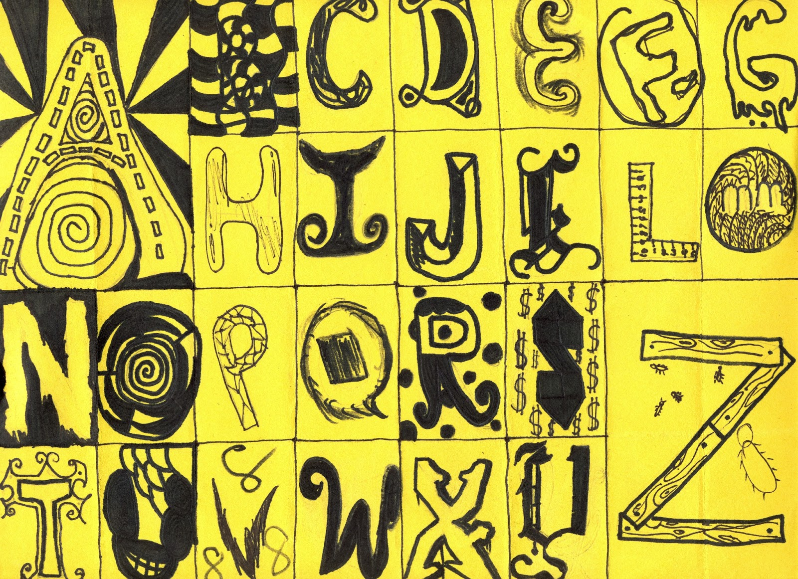 The Lost Sock : Creative Lettering