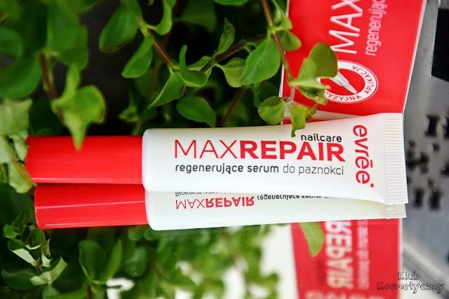 Evree, Max Repair, regenerujące serum do paznokci