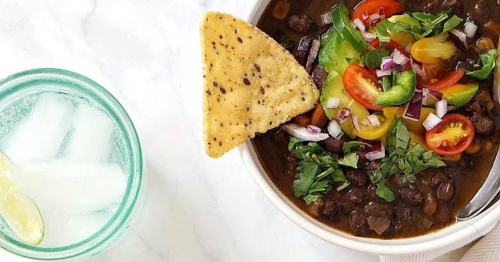 Slow Cooker Black Bean Soup | Yummy Mummy Kitchen | A ...