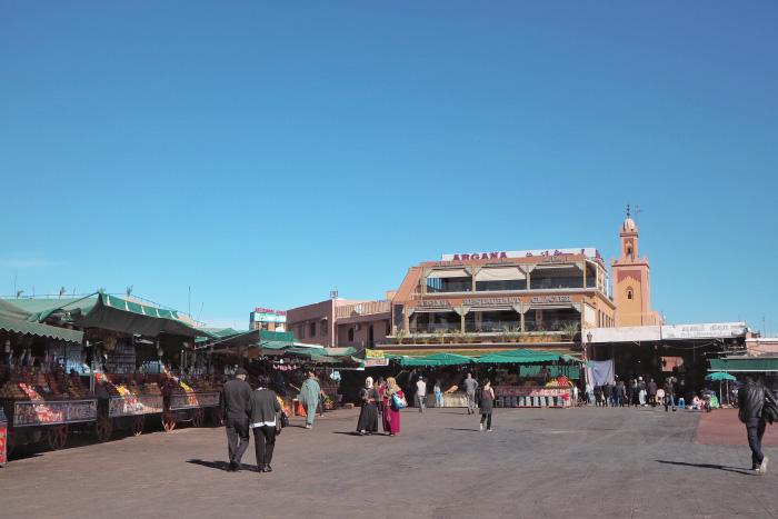 Médina de Marrakech au Maroc