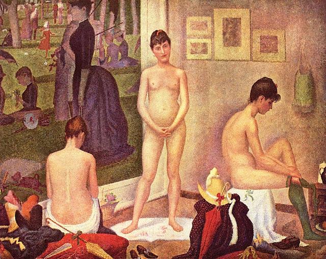 Georges Seurat: Le modelle