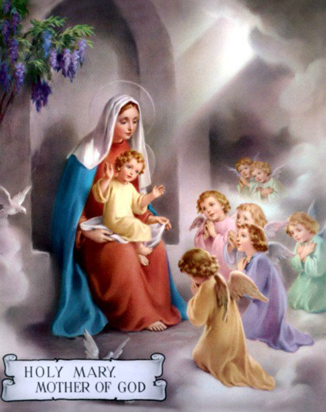 holy mary may the month of virgin mary