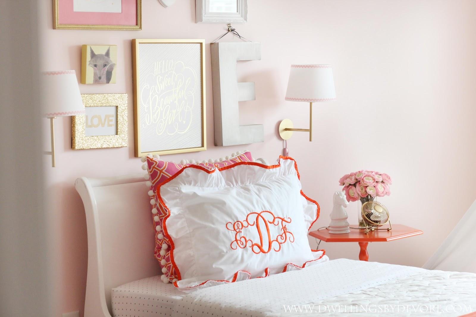 Dwellings By DeVore: DIY monogrammed pillow sham