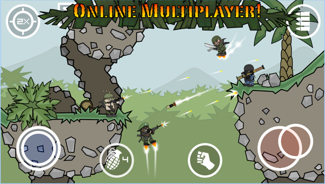 mini militia online play multiplayer game