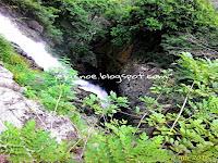 Air Terjun Perahu Kecamatan kampak
