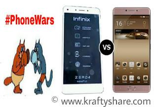 Reviews: Infinix Zero 4 VS Gionee M6