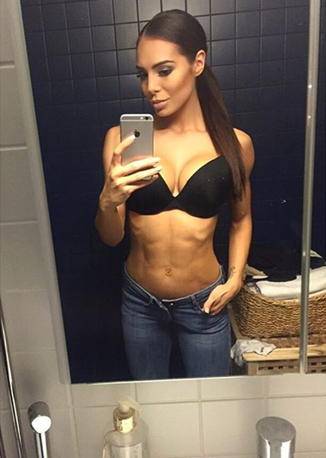 Fitness Model Sofia Jessica IFBB Bikini Pro Instagram photos