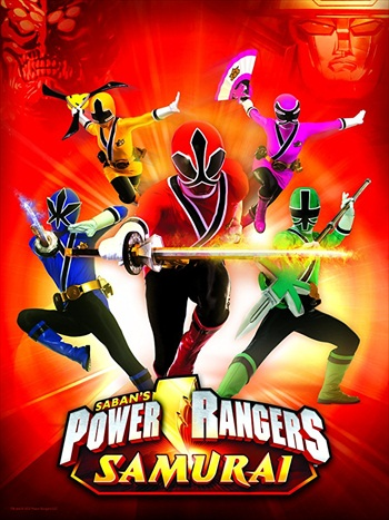 Power Rangers Samurai Clash Of The Red Rangers 2013 Dual Audio Hindi Movie Download