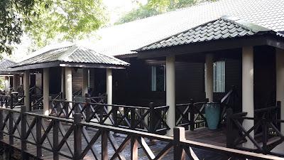 Rumah yang berisi kamar di Marriot Mulu Resort and Spa