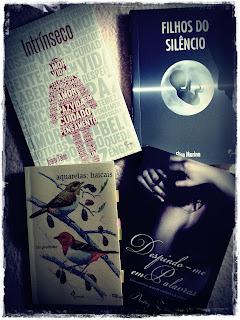 Caixa postal de maio/junho - livros recebidos
