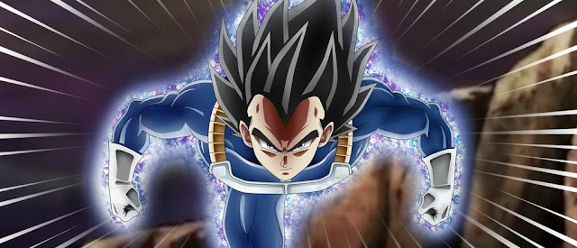 Vegeta Instinto Superior Migatte no Gokui Dragon Ball Fighter Z