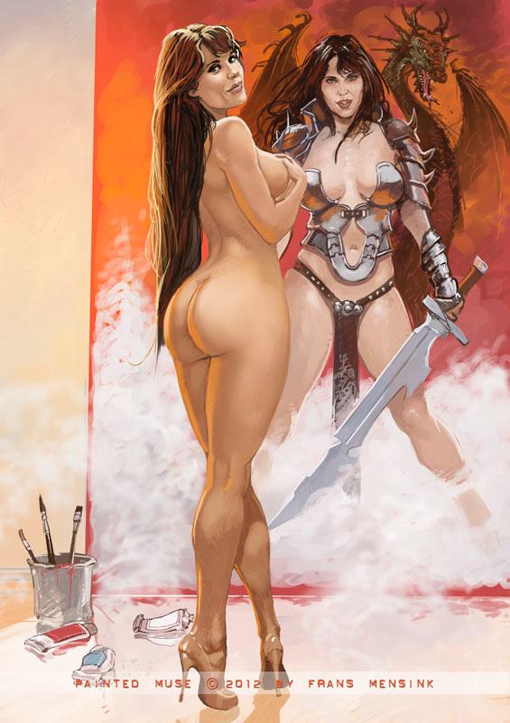 Cartoon giantess porn comic