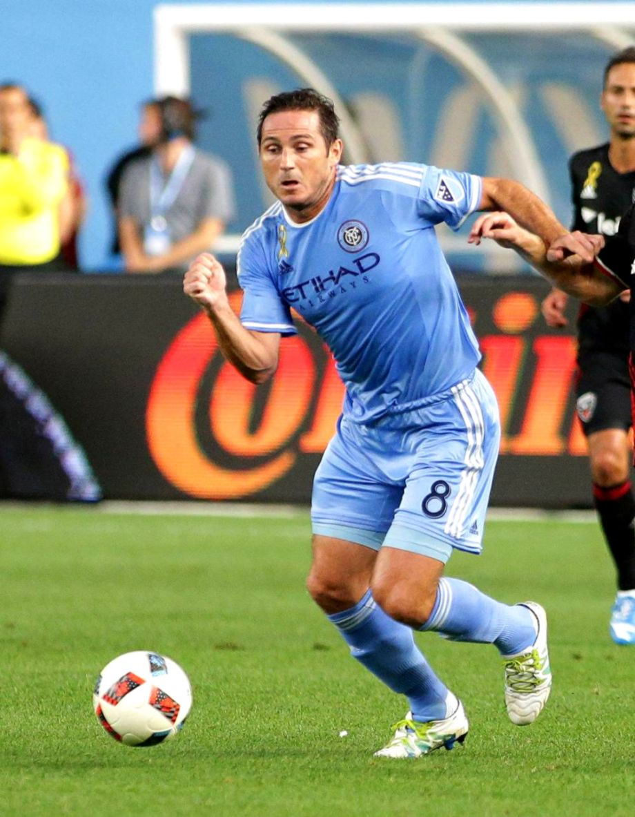 09c9f2b103c NYCFC Frank Lampard double sends NYCFC top of Eastern Conference