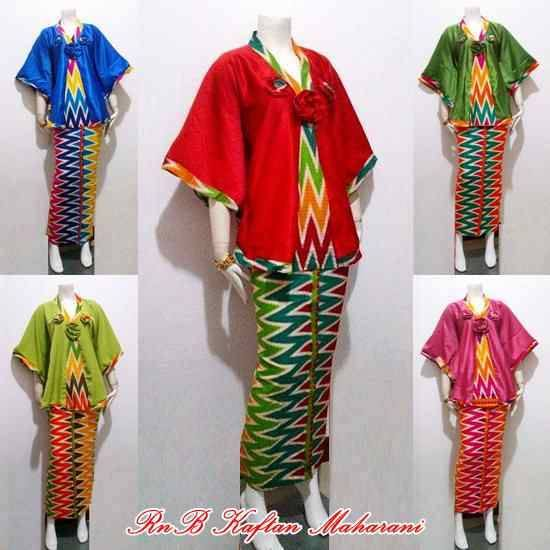 Contoh Gambar Baju Batik Modern: Model Baju Setelan Batik Wanita Trend 2015
