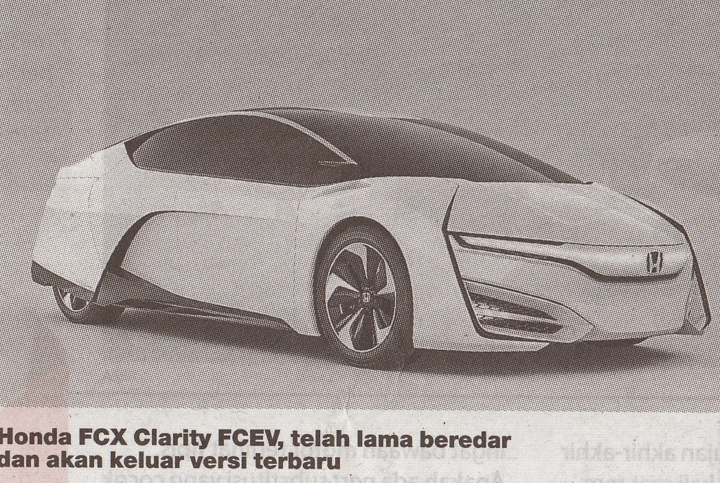 FCV Clarity FCEV (fuel cell electric vehicle)