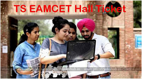 TS EAMCET Hall Ticket