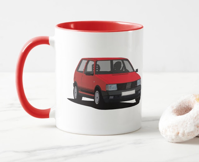 Fiat Uno Turbo i.e. coffee mug - bella macchina
