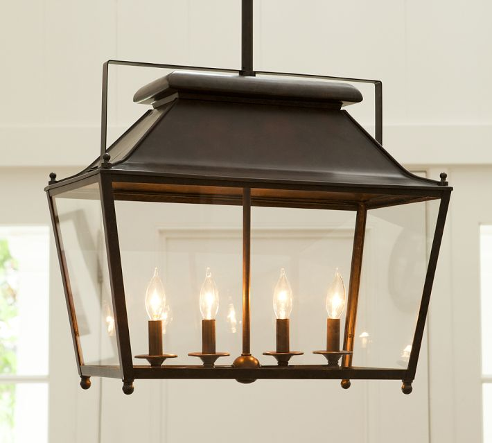 Pottery Barn Lanterns: Choosing A Hanging Lantern Pendant For The Kitchen