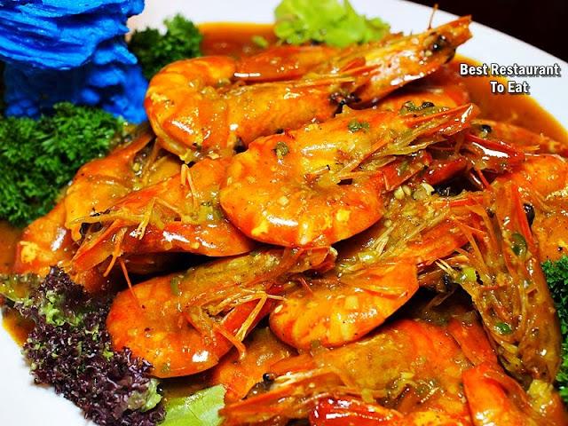 CNY2019 Menu Four Points By Sheraton - Tiger Prawns In Vietnamese Sauce
