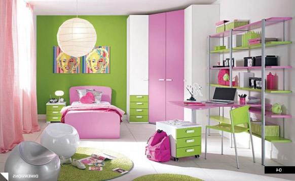 Dormitorios con muebles rosa para ni as dormitorios con for Diseno de muebles para dormitorio de nina