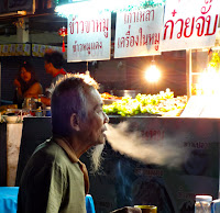 Phuket market nightlife