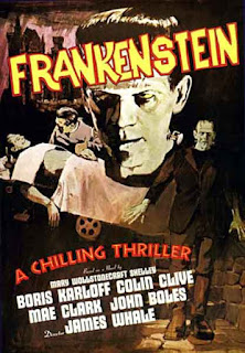 Frankenstein de James Whale 1931 / Poster