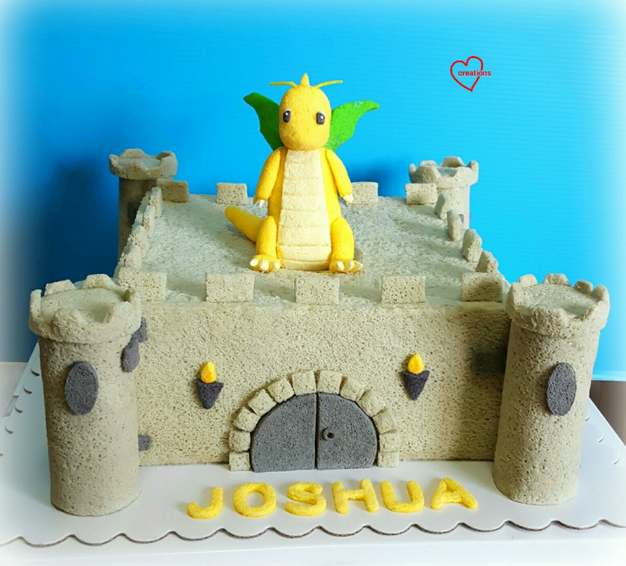 Loving Creations For You Dragonite Medieval Castle