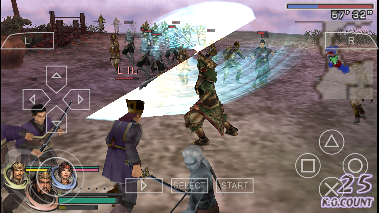 download game the warriors ppsspp iso