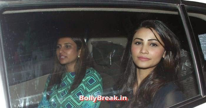 Daisy Shah, Celebs clicked at 'Kick' Special Screening at Yash Raj Studios