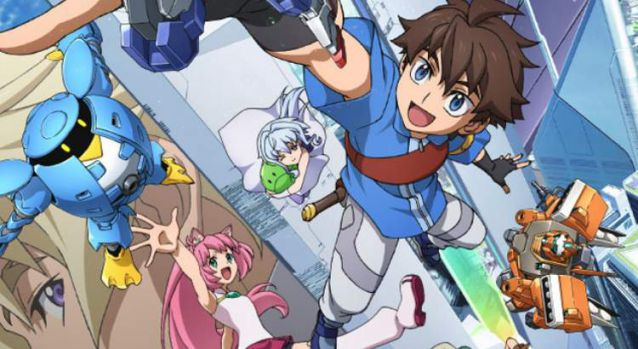 Gundam Build Divers,Gundam Build Divers English Subbed