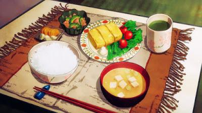 món ăn trong phim hoạt hình Nhật Bản