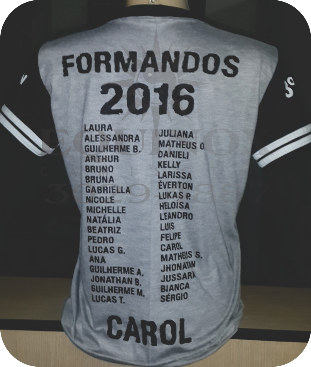 Equinox Camisetas (19) 3029.4887  Formandos Leão 26d86bf7e78