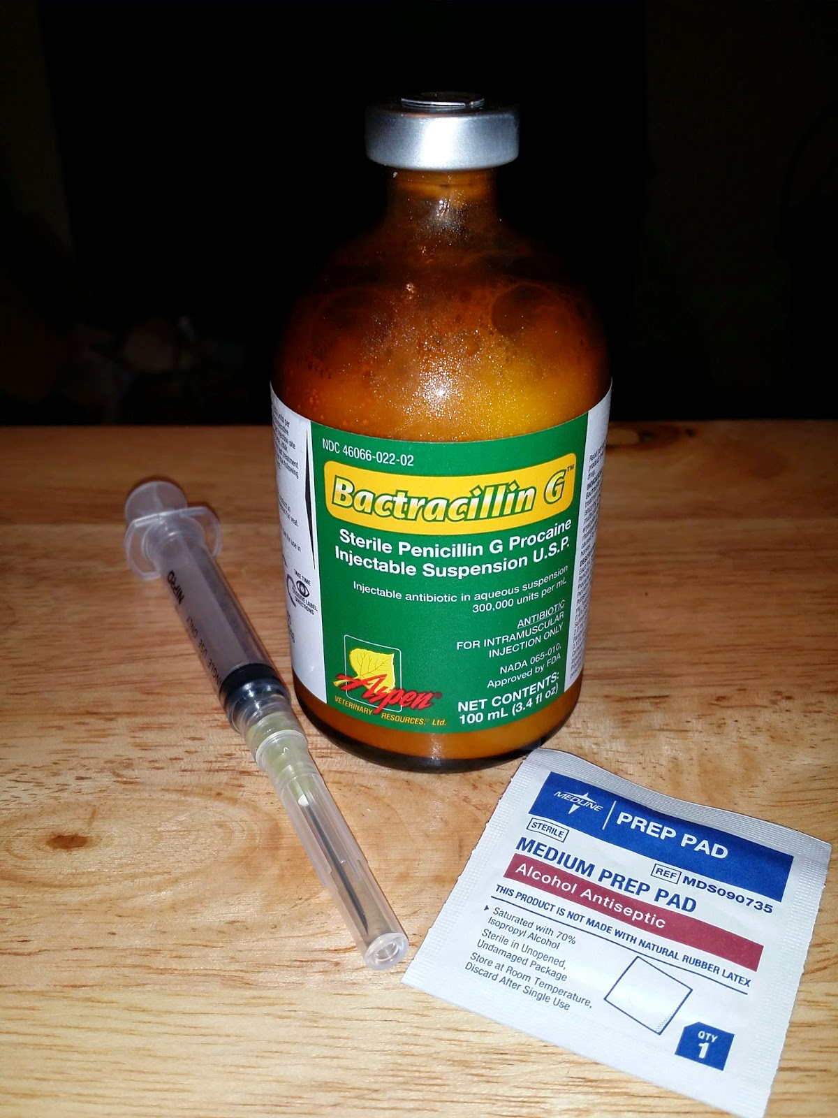 Durvet Penicillin Injectable
