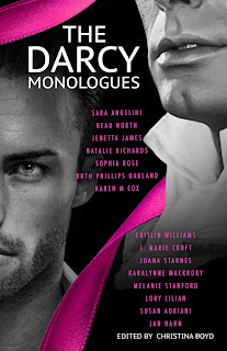 Book Cover: The Darcy Monologues, by various authors, edited by Christina Boyd