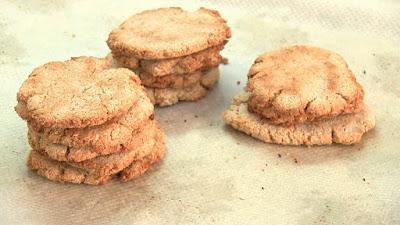 galletas de platano avena y coco