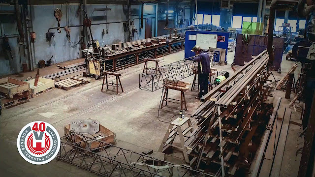 Производство до внедрения роботизированного сварочного комплекса