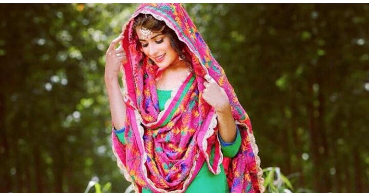 Beautiful Girls In Punjabi Suit T