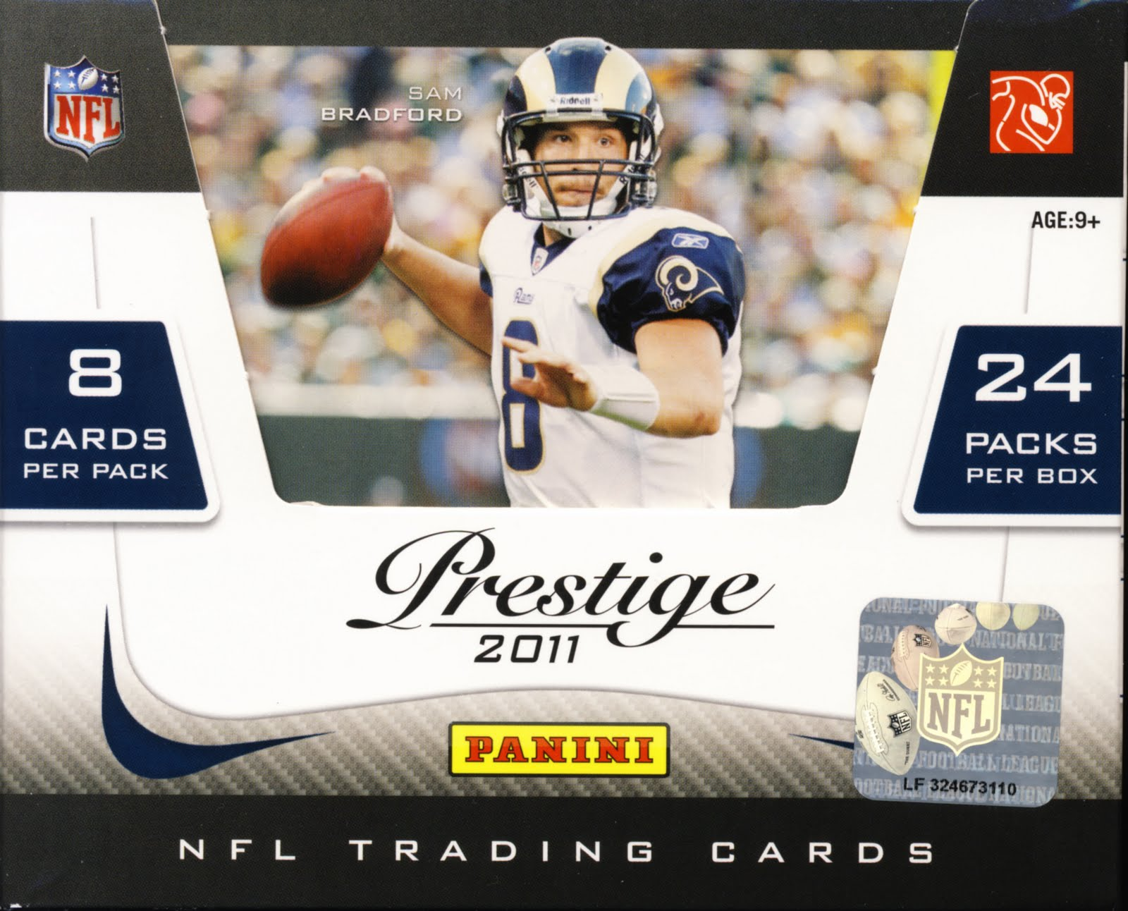 All About Cards: 2011 Panini Prestige Football NFL Trading Cards. An All About Cards Review