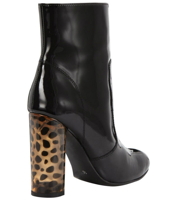 office patent animal heel boots