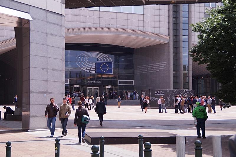 Europäisches Parlament Europaviertel Brüssel, Belgien