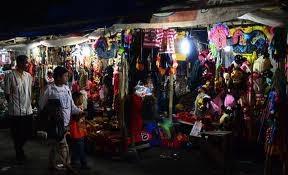 peluang usaha dagang keliling di pasar malam