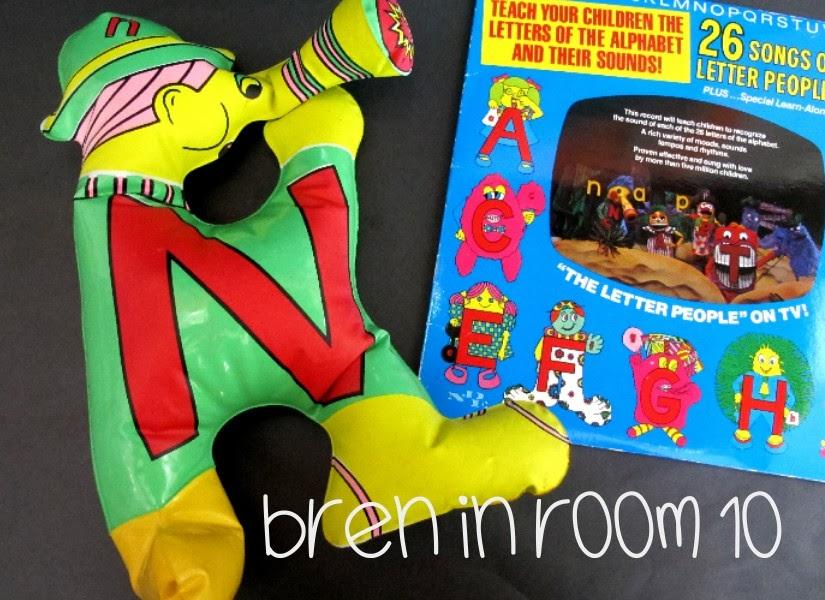 bren in room 10 : Throwback Thursday - The Letter People