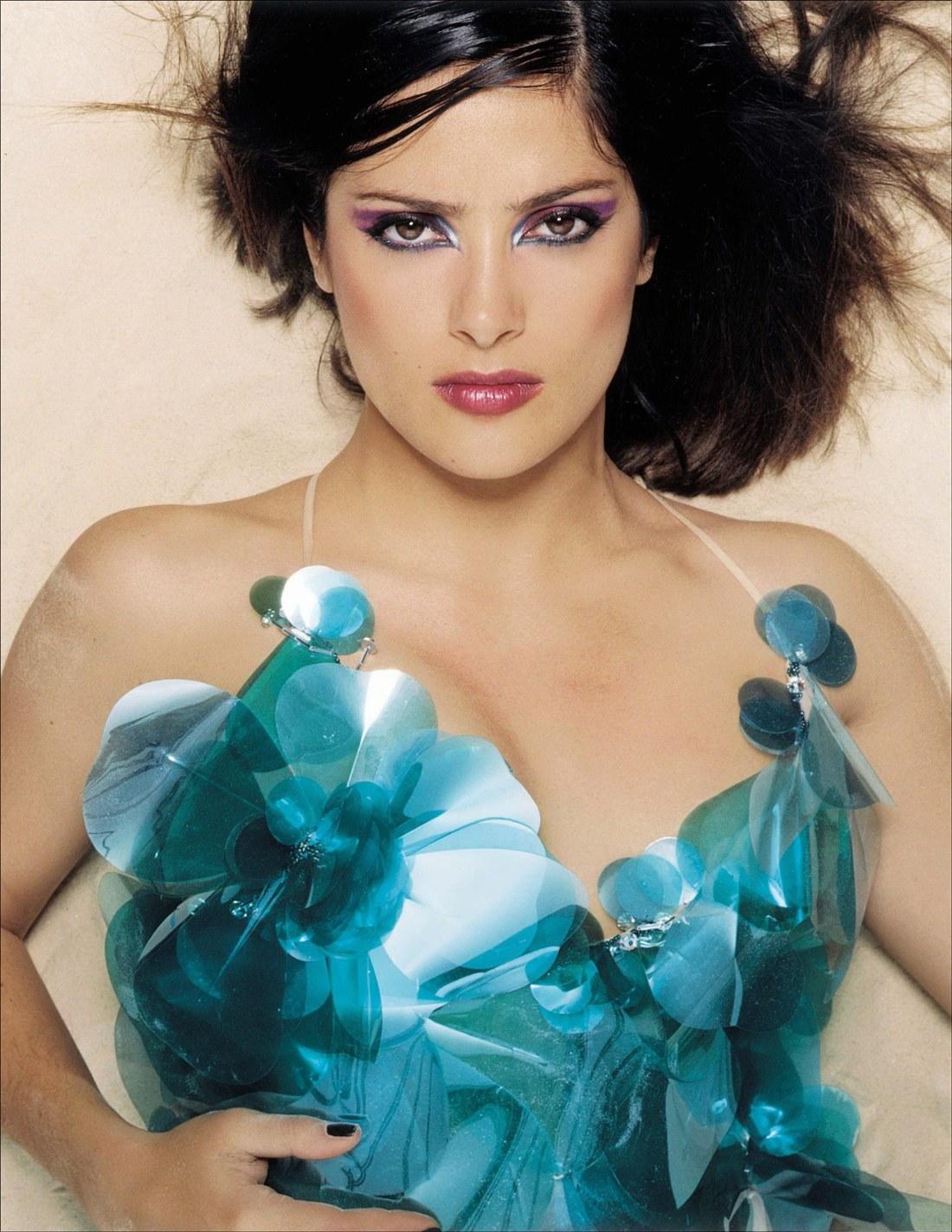 salma hayek nude photoshoot