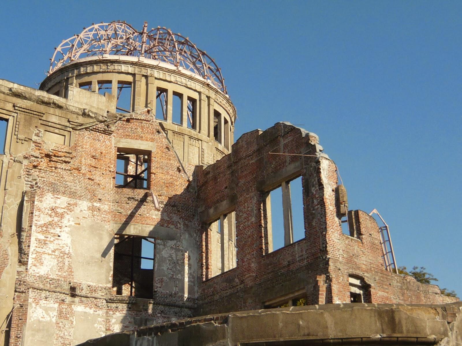 日本自由行D1+2 廣島原爆圓頂屋 和平紀念公園 世界遺產宮島