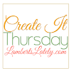Create It Thursday #156 (Plus Features)