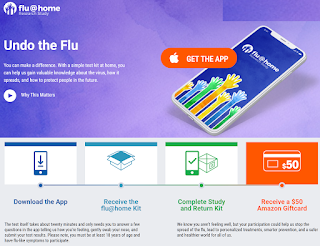 Flu@Home Research Study Free $50 Amazon Gift Card Opportunity - If